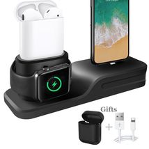 Apple Charging Dock 3 In 1 Docking Station Iphone X 5 6 8 7 Plus Watch Series 3 image 1