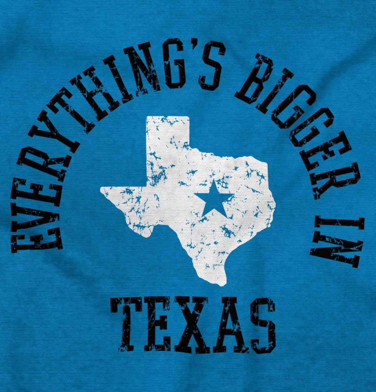 Bigger In Texas Lone Star State TX Cowboy Country Souvenir Sweatshirt