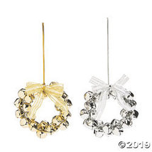 Jingle Bell Wreath Ornaments - $30.25