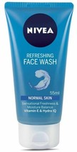 3 Pack Nivea Refreshing Sensational Freshness & Moisture Balance Face wash 55ml - $14.47