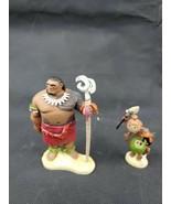 Disney Moana Pvc Action Figure Toys Cake Toppers Lot - $4.99