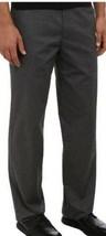 Mens Dress Pants Dockers D3 Gray Classic Flat Front Easy Khaki $50-size ... - $19.80