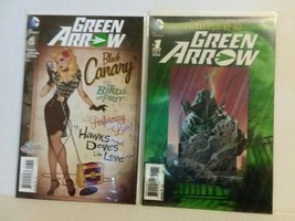 GREEN ARROW: FUTURES END #1 - 3D COVER + #43 BLACK CANARY - FREE SHIPPING - $10.40