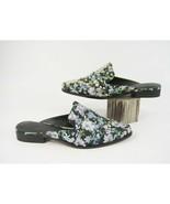 Rebecca Minkoff Milena Floral Studded Silk Slide Mules Sandals Sz 8.5 NIB - $78.71