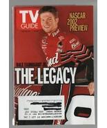 TV Guide -  February 16-22, 2002 - NASCAR 2002 Preview, Dale Earnhardt Jr. - $0.97