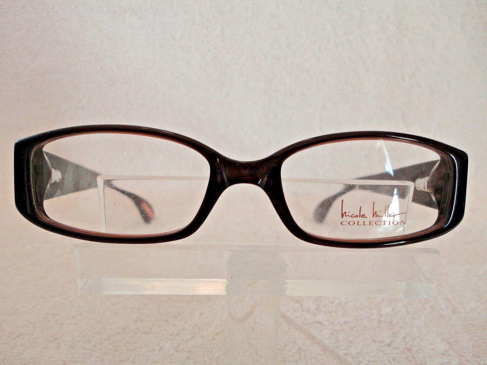 Nicole Miller Lefleur in Mocha 47 X 16 130 mm Eyeglass Frame - $24.70