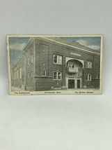The Auditorium de La The Hiver Jardin Portsmouth Oh Carte Postale - $10.02