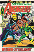 The Avengers Comic Book #102, Marvel Comics Group 1972 FINE+ - $17.34