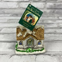 Old World Christmas The Glass Cathedral Church Ornament New With Tags - $14.49