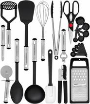 Juego de utensilios de cocina - 23 utensilios de cocina de nylon antiadh... - $27.79