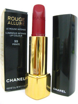 French Chanel Red Lipstick Rouge Allure Luminous Intense Lip Color 99 Pirate - $49.99