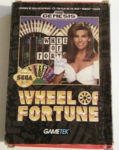 Wheel of Fortune (Sega Genesis, 1992) - $4.95