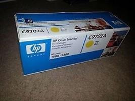 OEM Genuine HP C9702A HP 2500 Toner Cartridge Yellow Color LaserJet 1500 2500 - $39.15