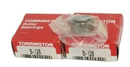 LOT OF 2 NIB TORRINGTON B-128 NEEDLE BEARINGS 3/4 X 1 X 1/2 INCH, B128