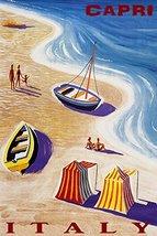 BEACHES OF CAPRI ITALY SUMMER TRAVEL BEACH FAMI... - $47.53