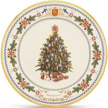 Lenox 2014 Finland Trees Around The World Plate Annual Christmas MADE IN... - $47.52