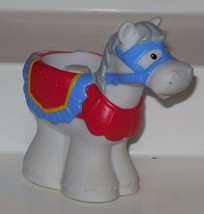 Fisher Price Current Little People Castle Horse FPLP Rare VHTF - $9.50