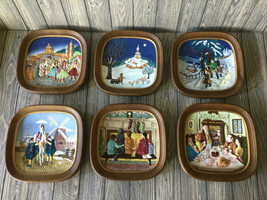 Lot of 6 Royal Doulton John Beswick Limited 1973 Plate Plaque Framed to Hang - $55.75