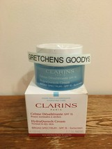 Clarins HydraQuench Cream 1.7 oz SPF 15 NIB Factory Sealed Normal to Dry... - $30.68