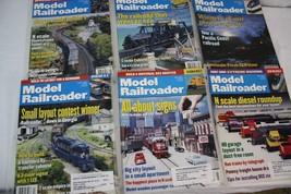 Model Railroader Magazines 2001 January - June - $13.99