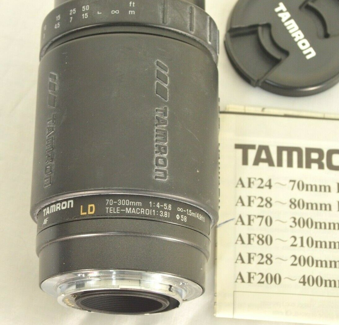 Tamron LD 70-300mm f/4.0-5.6 LD AF camera lens for Sony image 2