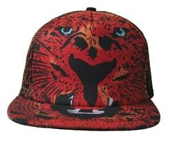 Iron Fist Black Year Of The Cat Trucker Snapback Baseball Hat Cap Pussycat NWT image 2