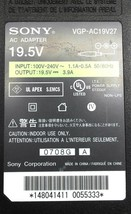 Genuine Sony Laptop Charger AC Adapter Power Supply VGP-AC19V27 19.5V 3.9A 76W image 2