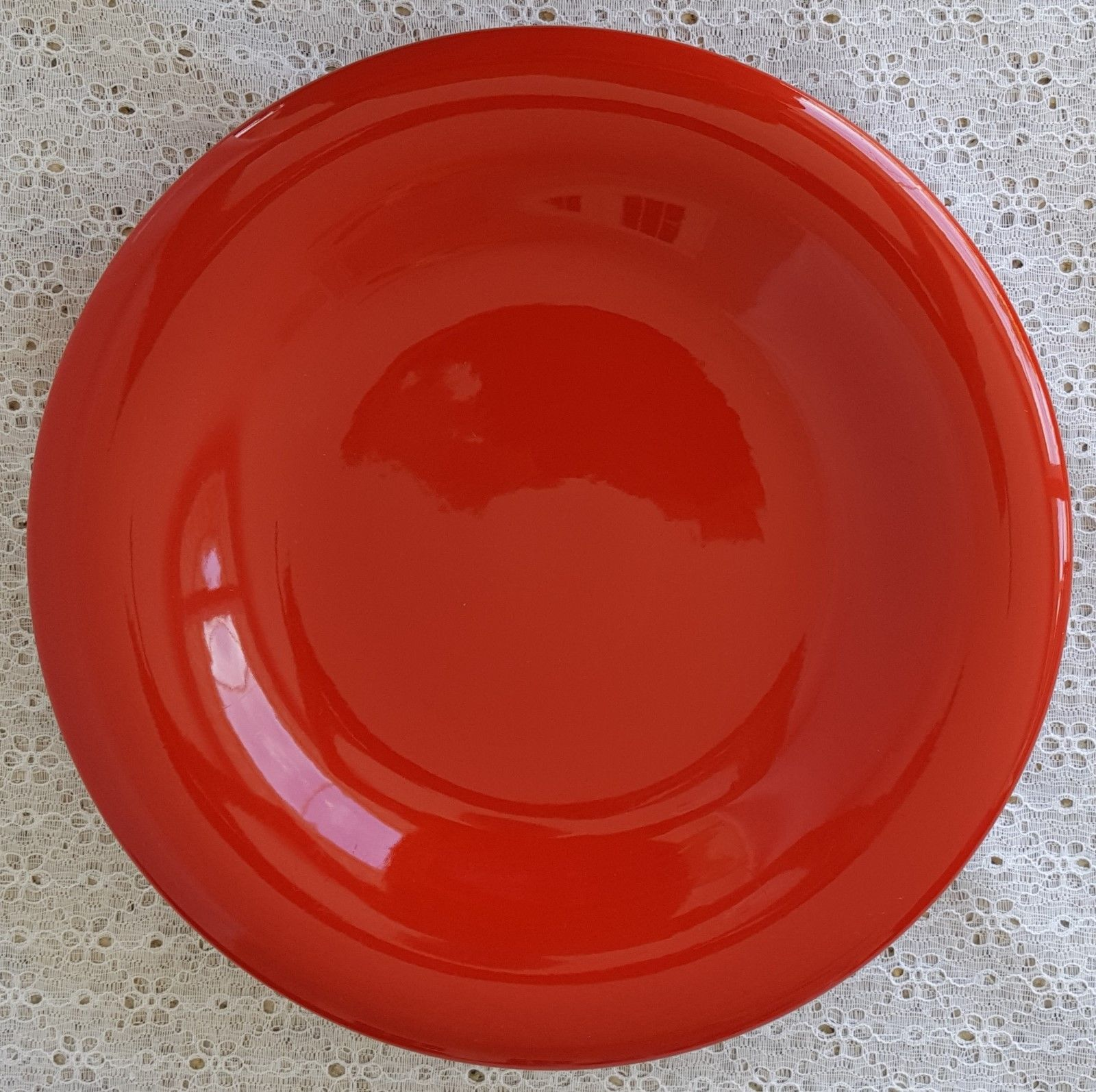 ... Tabletops LIfestyle Unlimited Espana Blaze Red Dinner Plates Set of 5 Stoneware ...  sc 1 st  Bonanza & Tabletops LIfestyle Unlimited Espana Blaze and 50 similar items
