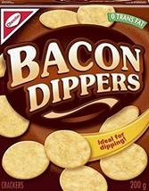 Christie Bacon Dippers Crackers 6 boxes 200g each, Canadian made - $59.99