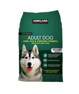 NEW Kirkland Signature Adult Formula Lamb, Rice and Vegetable Dog Food 4... - $61.49