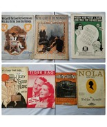 Vintage Sheet Music 1915-1918 Assorted Lot of 7 Songs - $25.57