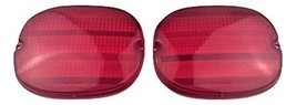 A-Team Performance 1991-1996 Chevy Corvette GM C4 Rear Tail Light Lens RED 91 92