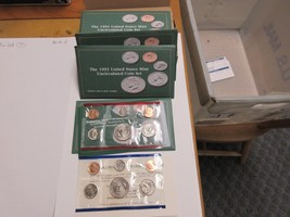1993 , United States Mint , Uncirculated Mint Set , Lot of 5 Sets - $40.00
