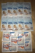 LOT 10 Ultra Downy & 10 Bounce Drier Sheets Perfect For TRAVELING!! - $18.04