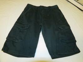 Hurley Boys Youth shorts 981039-g36 C Charcoal 18 school surf skate carg... - $24.22