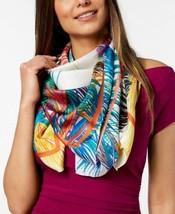 Echo Design Tasman Palms Silk Scarf (One Size, Bright White) - €68,39 EUR