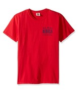 NCAA Mississippi Ole Miss Rebels Unisex Comfort Color SS Tee,Large - $12.95