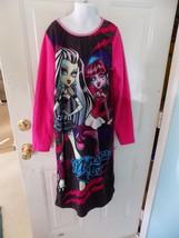 Monster High Frankie Draculara Long Nightgown Size 14/16 Girl's EUC - $16.02