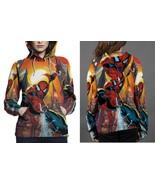 SpiderMan Hoodie Fullprint Women - $43.99+