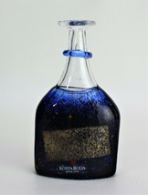 Kosta Boda Satellite Bottle Bertil Vallien Vase Signed Miniature - $118.75