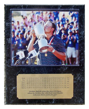 2017 British Open Champion Jordan Spieth 8x10 Photo Plaque w Engraved Sc... - $24.99