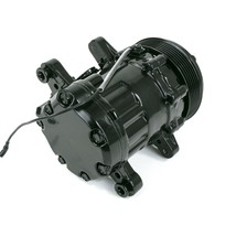 HC5005BK A/C Compressor Chromed Sanden SD-7 Type Aluminum (Black)