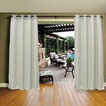 Cross Land Outdoor Waterproof Patio Curtains Drapes Canopy Gazebo Privac... - $32.21