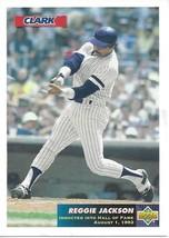 1993 Upper Deck Clark Reggie Jackson Complete Set 1-3 - $2.50