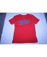 Youth Minnesota Twins Brian Dozier L (14/16) Jersey T-Shirt Tee (Red) Ma... - $8.59