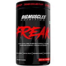 2 x  Bigmuscles Nutrition Freak A Next Level Pre-Workout Formula Unflavored (360 - $246.13