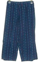 WOMEN'S NAVY BLUE STAR PRINT SLEEP PANTS SIZE XL - $8.88