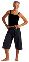 Motionwear 3123 Black Adult Small (4-6) Camisole Tank Top - $7.99