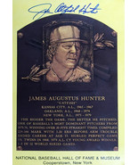 Autographed James Catfish Hunter Card - New York Yankees - $120.00