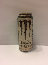 Monster Energy Drink Java Cappuccino Exclusive Stuff Promo Discontinued Can - $17.00